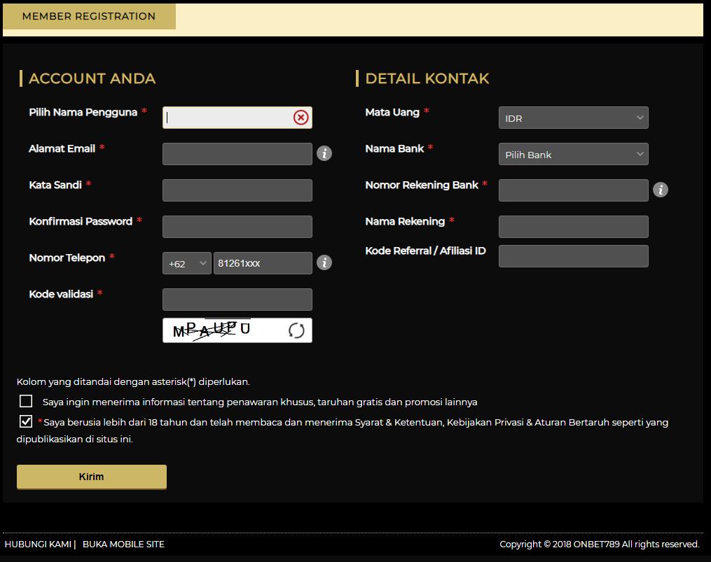 Daftar Situs Casino Online Terpercaya 2